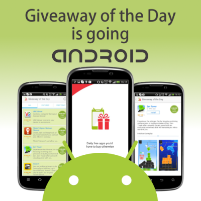 Giveaway android